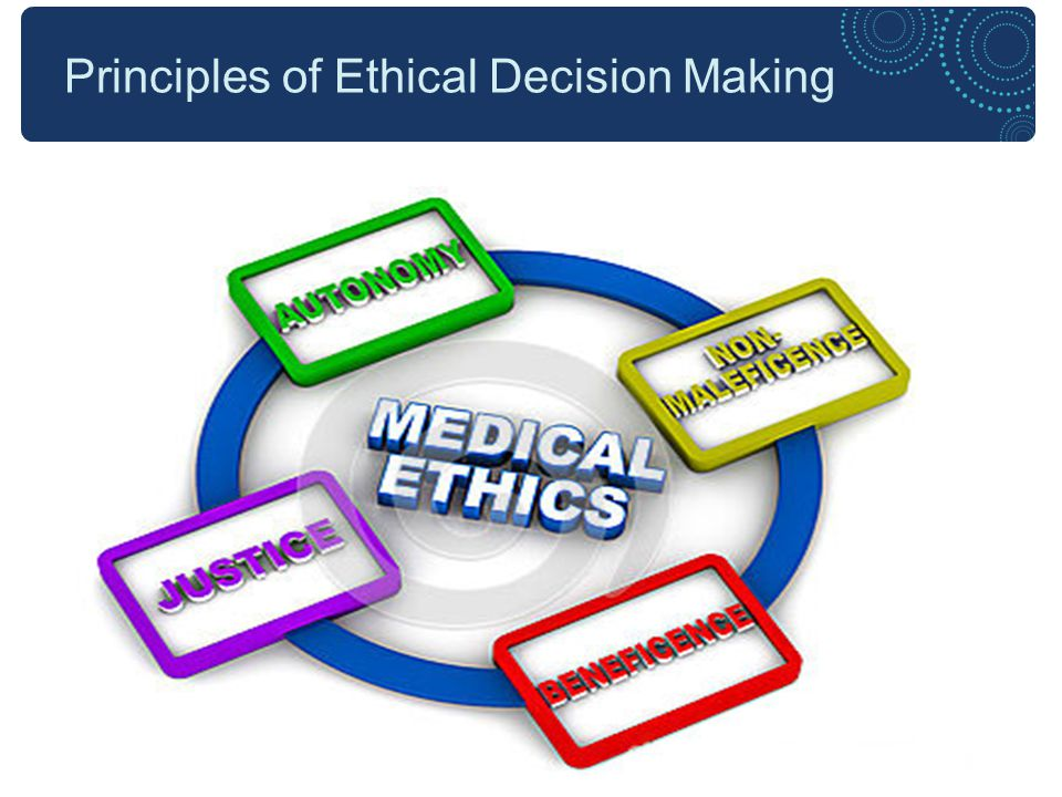 Ethical Principles Autonomy: To acknowledge that all people have intrinsic worth, the right to hold views, to make choices and to take action based on their values and beliefs.