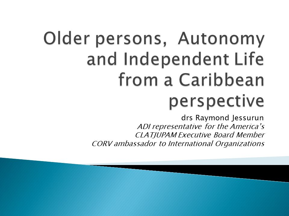 Universal principle of Access In Caribbean structural obstacles 2.