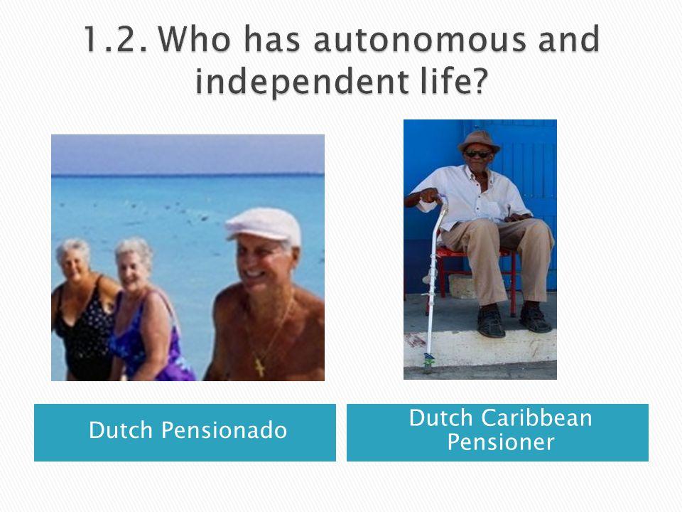 Dutch Pensionado Dutch Caribbean Pensioner