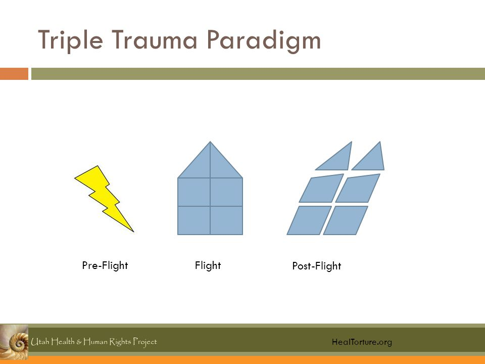 Triple Trauma Paradigm HealTorture.org Pre-FlightFlight Post-Flight