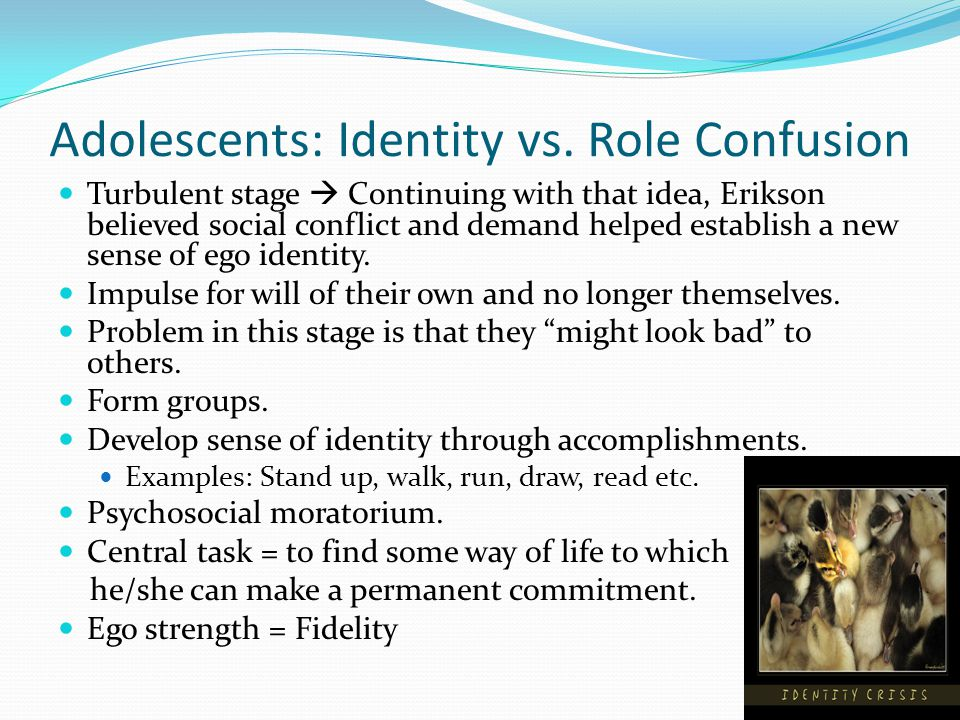 Adolescents: Identity vs.