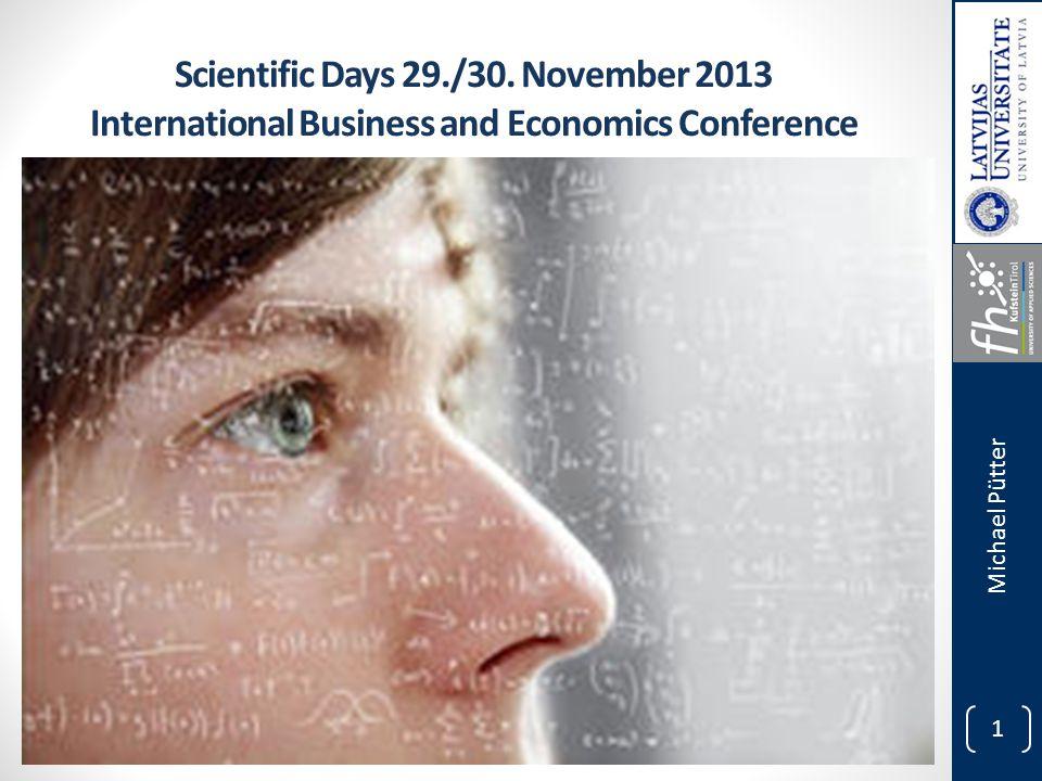 1 Scientific Days 29./30.