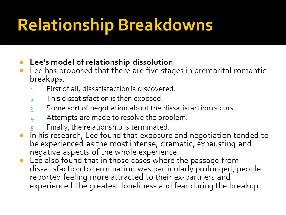 relationship formation maintenance and dissolution revision A small video giving the ins and outs of the social exchange theory created for our psychology class as part of a 'revision material' project over the half t.