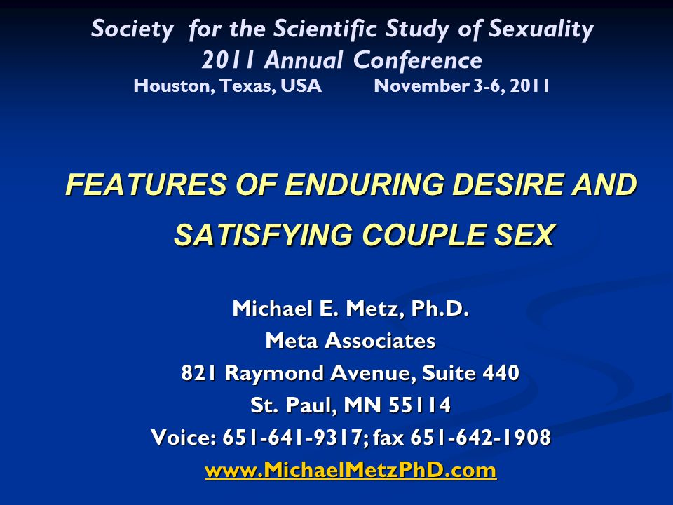 What is Distinctive About Couples with SD.