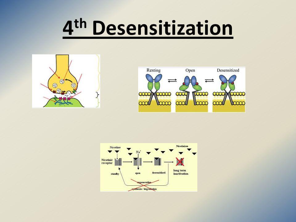 4 th Desensitization
