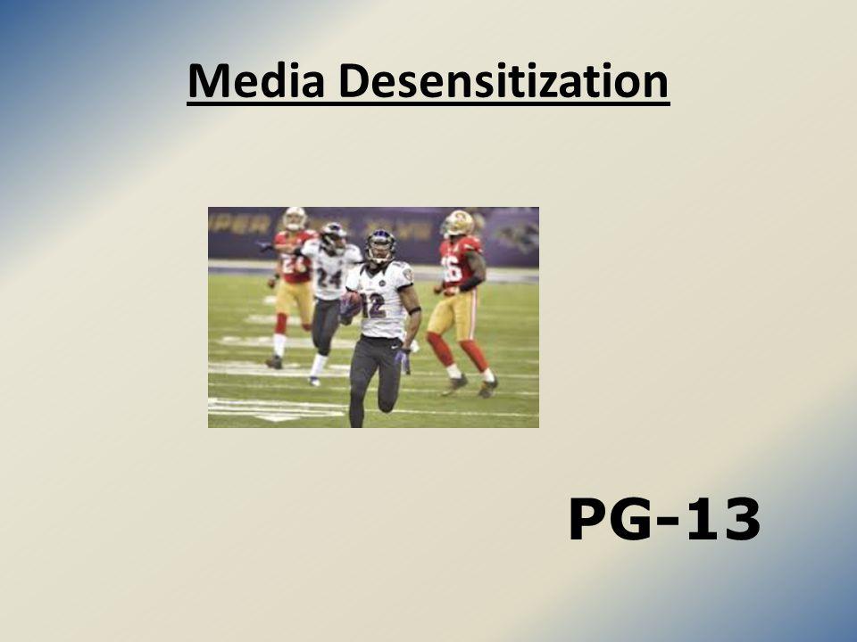 Media Desensitization PG-13