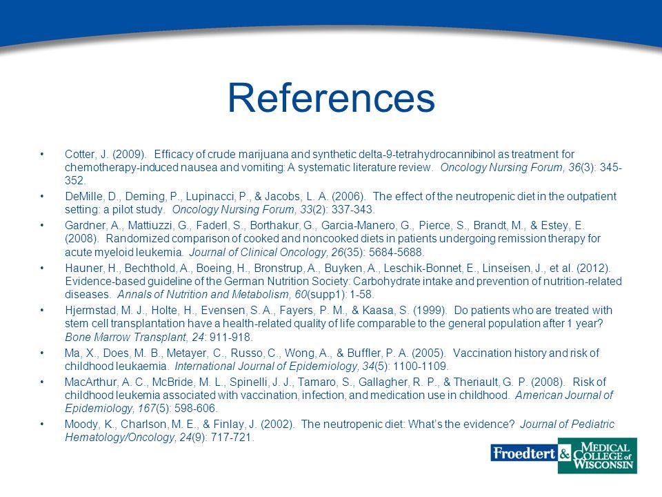 References Cotter, J. (2009).