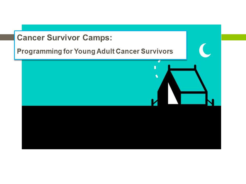Cancer Survivor Camps: Programming for Young Adult Cancer Survivors Cancer Survivor Camps: Programming for Young Adult Cancer Survivors