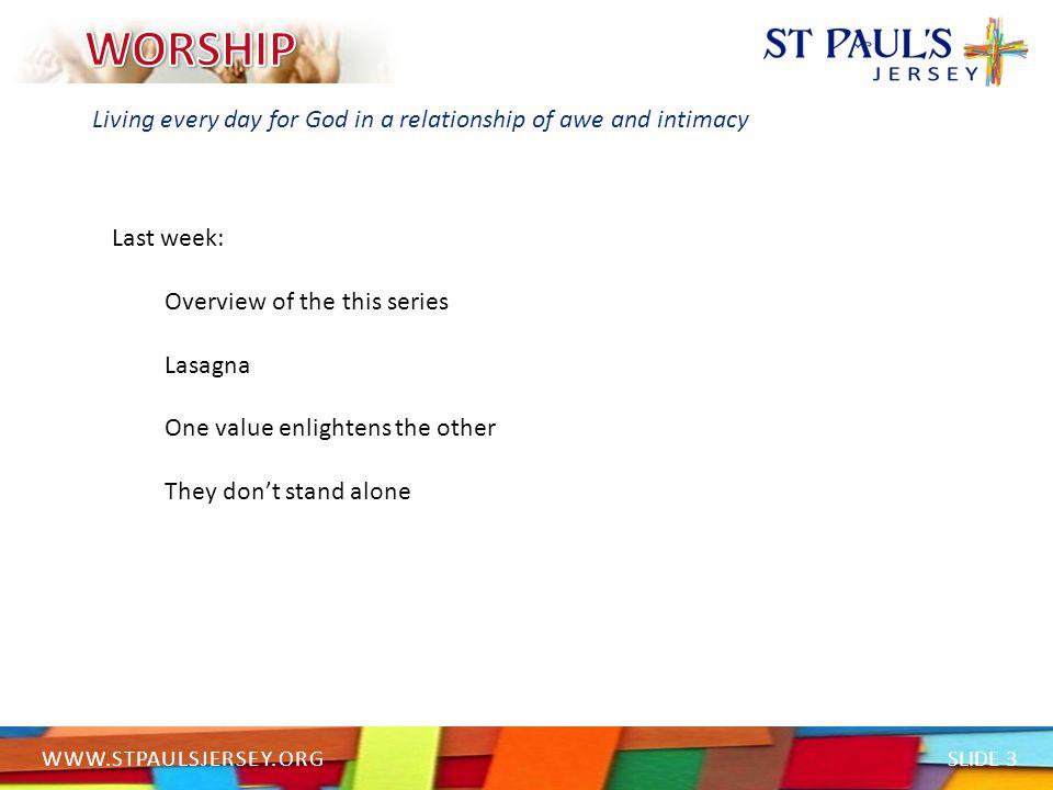 SLIDE 14 WWW.STPAULSJERSEY.ORG Living under the authority of God's Word HebrewAlphabet