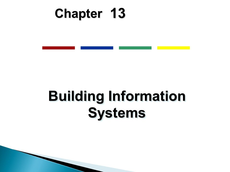 13 Chapter Building Information Systems