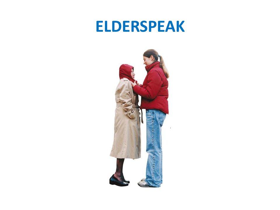 ELDERSPEAK