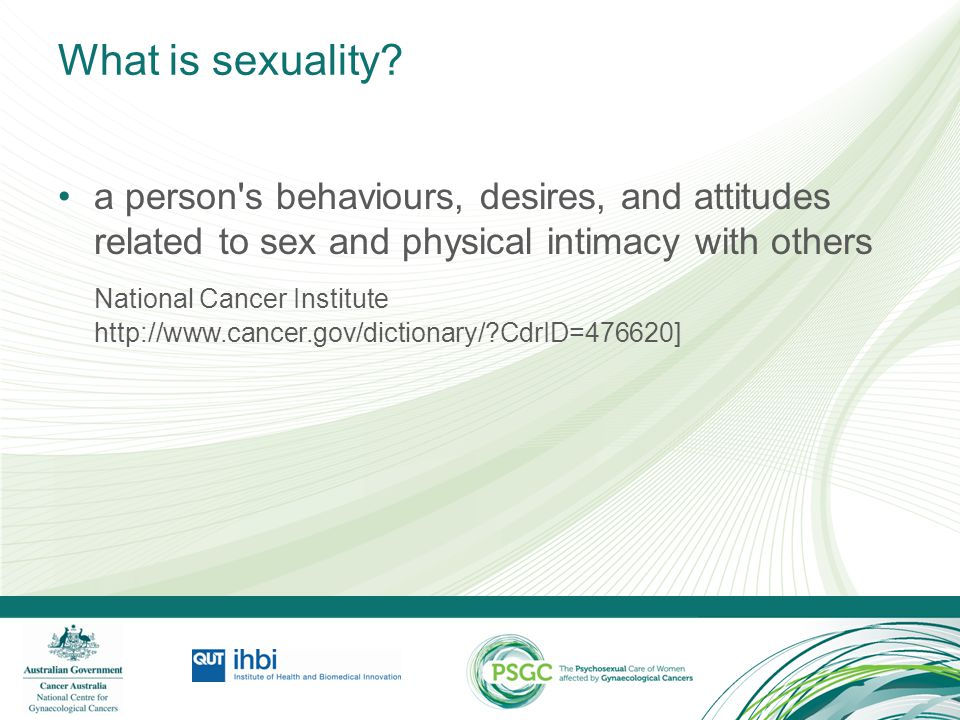 Factors influencing an Individual's Sexuality Sexuality can be influenced by a range of social, cultural, psychological and biological factors
