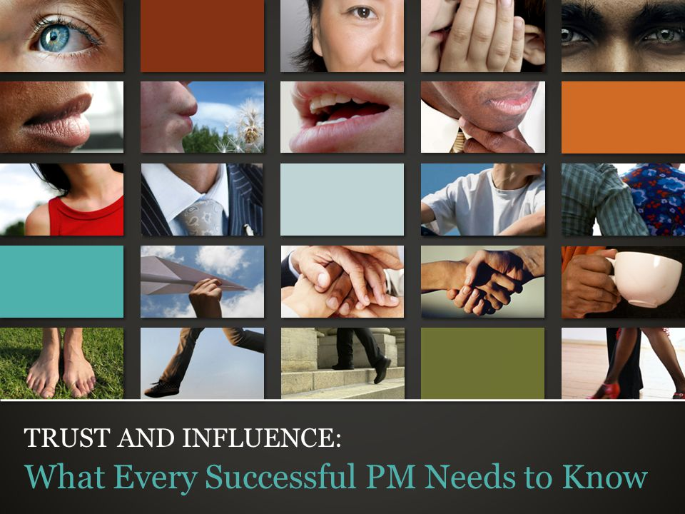 © Trusted Advisor Associates LLC, 2009 all rights reserved TRUST AND INFLUENCE: What Every Successful PM Needs to Know