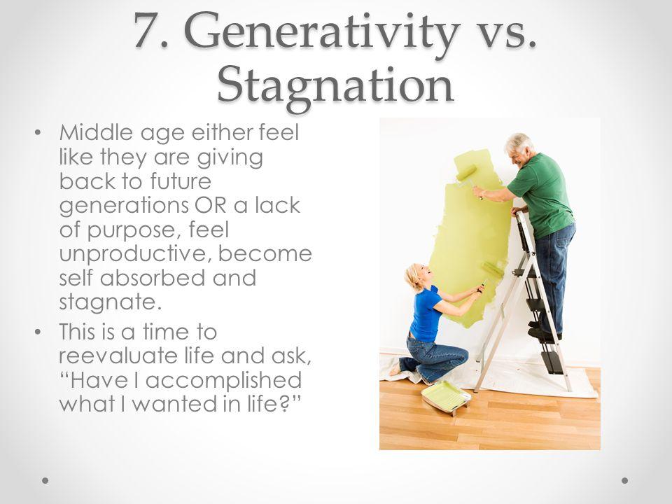 7. Generativity vs.