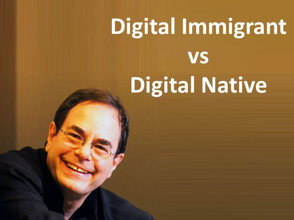 Digital Immigrant vs Digital Native