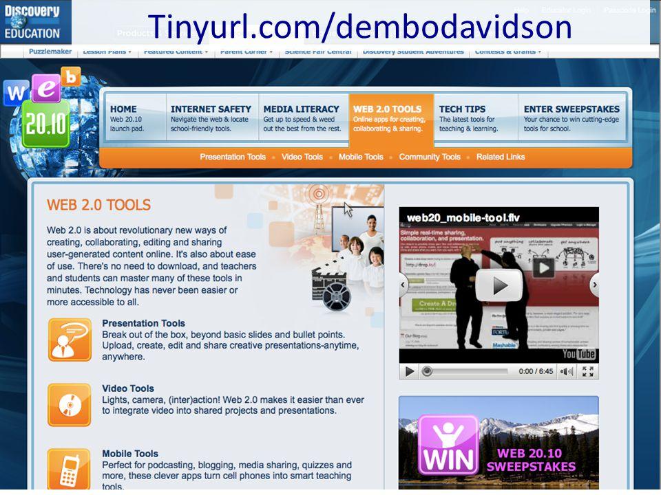 Tinyurl.com/dembodavidson