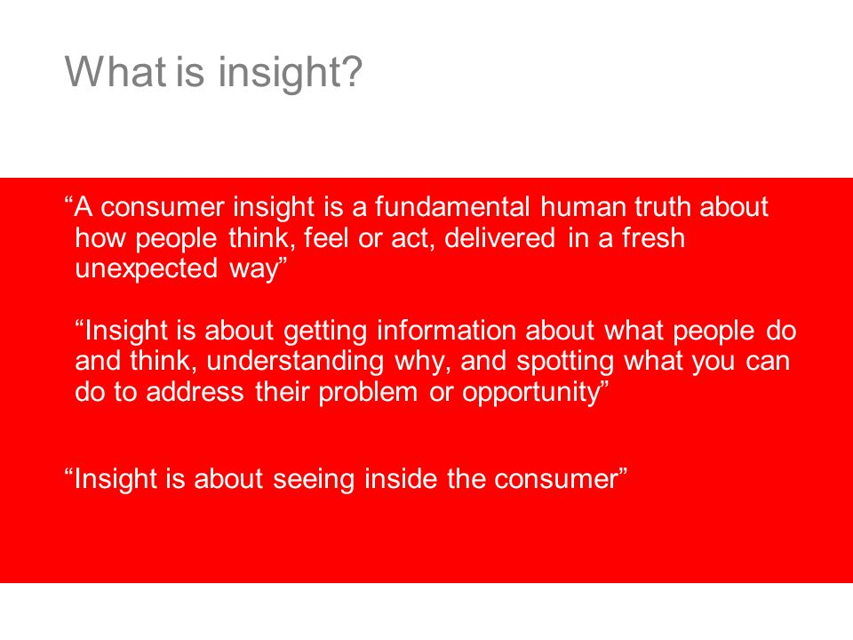 Creating innovation people believe in Brand Success Belief InsightForesight