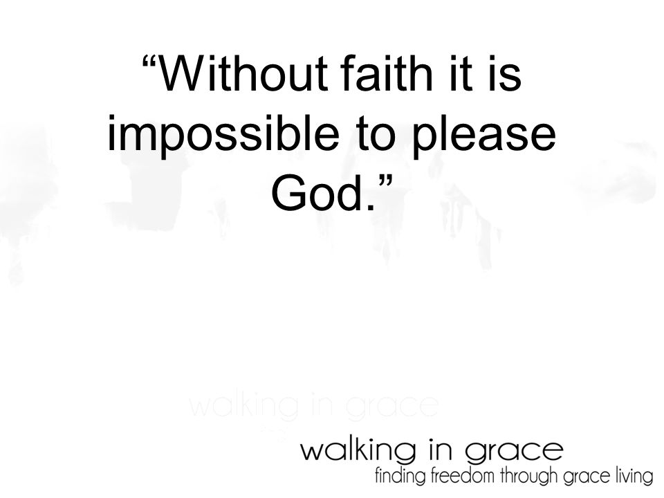 WALKING IN GRACE: VICTORY IS OURS!