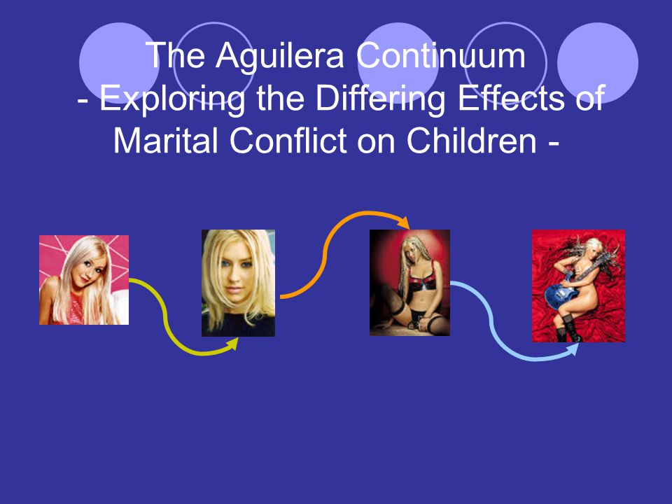 The Aguilera Continuum - Exploring the Differing Effects of Marital Conflict on Children -