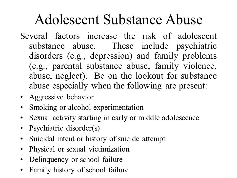 Absenteeism and Dropping Out Many adolescents feel disconnected from school. This feeling can be caused by many factors (e.g., poor academic skills, s