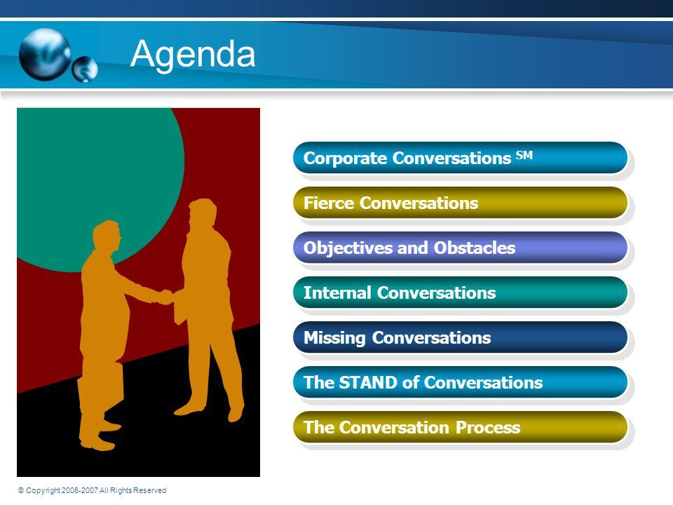 Corporate Conversations SM Fierce Conversations Executive Blueprints, Inc Communications Provoke Extraordinary Results