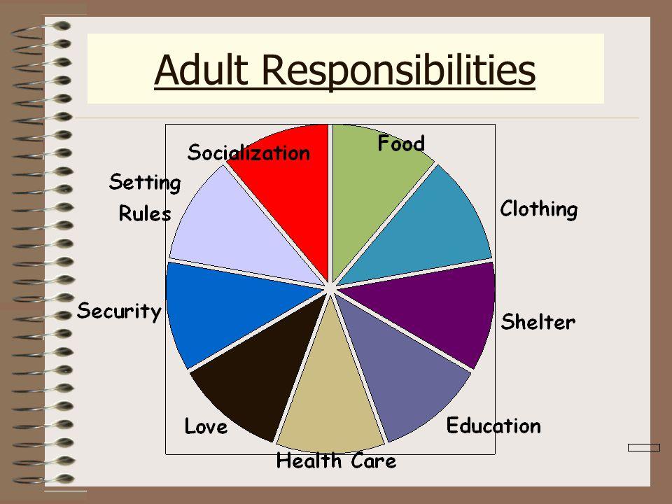 Adult Responsibilities