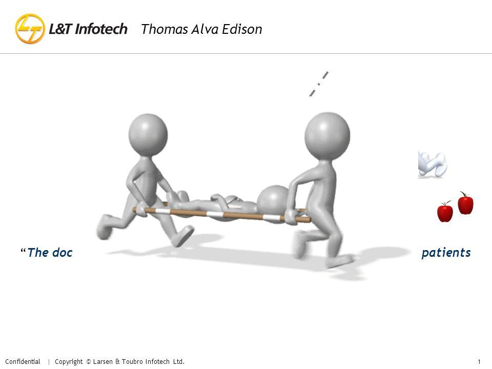 Confidential | Copyright © Larsen & Toubro Infotech Ltd.