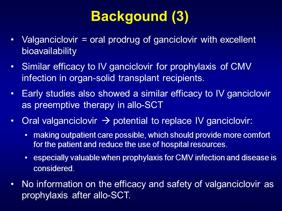 Prognostic factors and efficacy of prophylaxis
