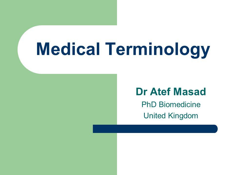 Prefixes of Number and Measurement Micro-microscope mono-mononuclear uni-unilateral multi-multipara 4/29/2015Dr Atef Masad 42