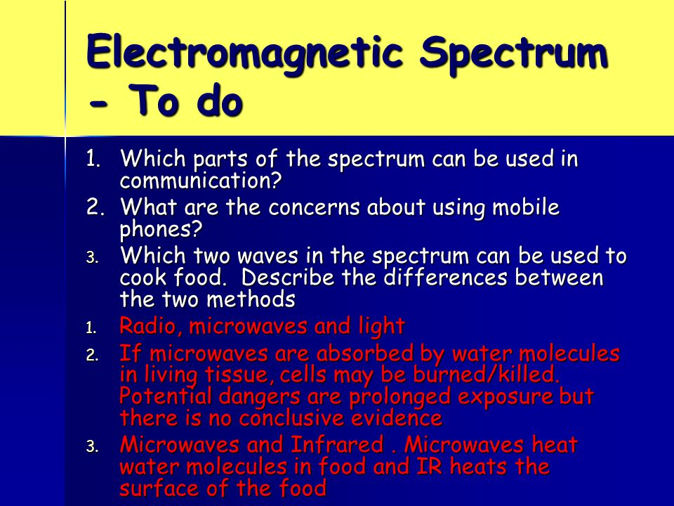 Level 3 Answer correctly applies knowledge of how long and medium wave signals diffracted around the obstacle to his house; some diffraction with VHF; however microwaves have an even shorter wavelength so do not diffract as much.