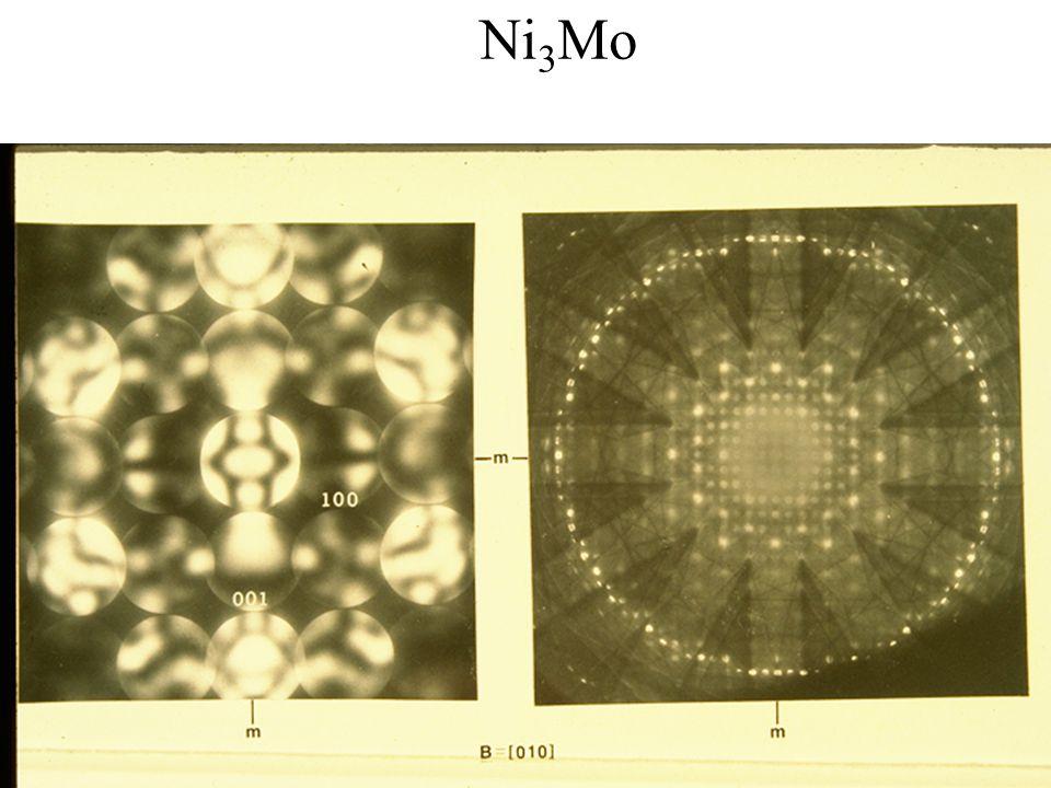 PASI Santiago, Chile July 2006 24 Eades / Convergent-Beam Diffraction: I Ni 3 Mo