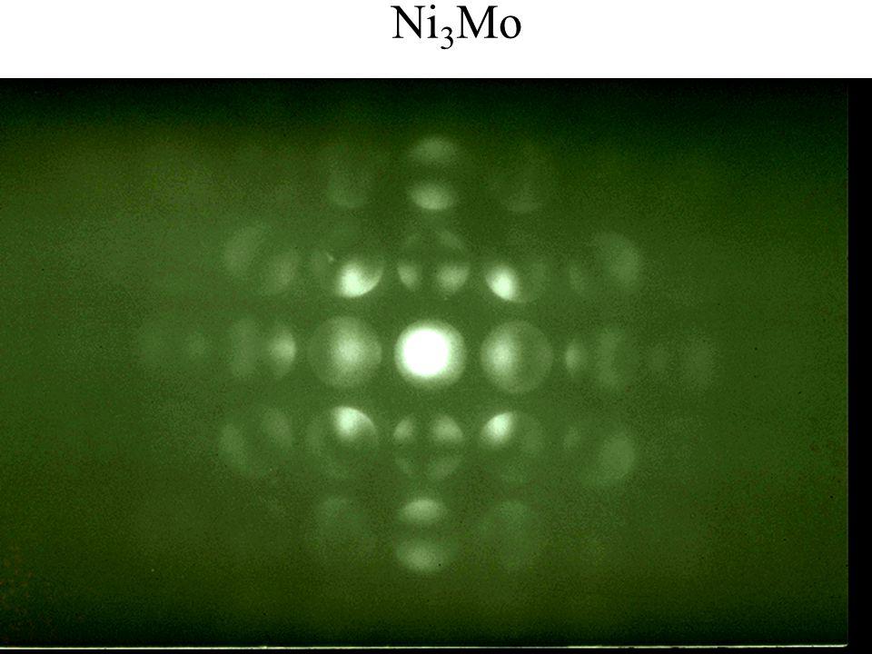 PASI Santiago, Chile July 2006 50 Eades / Convergent-Beam Diffraction: I Ni 3 Mo