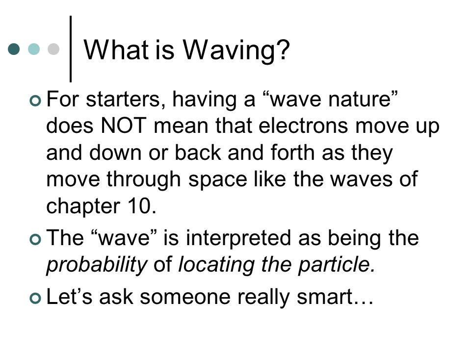 What is Waving.