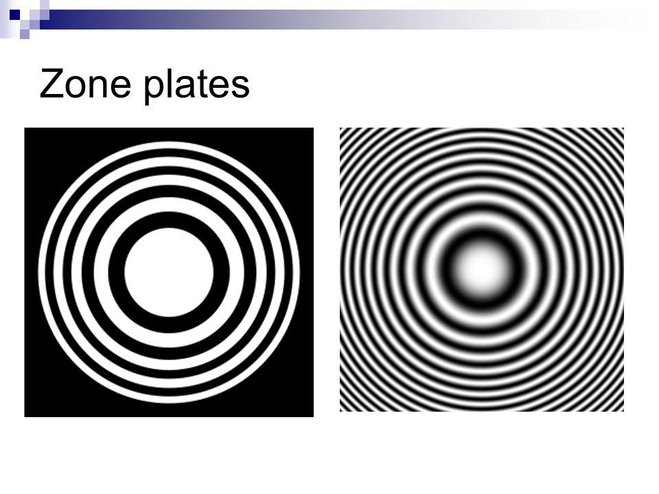 Zone plates