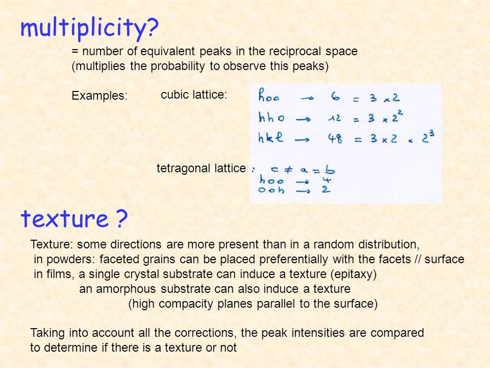 multiplicity.