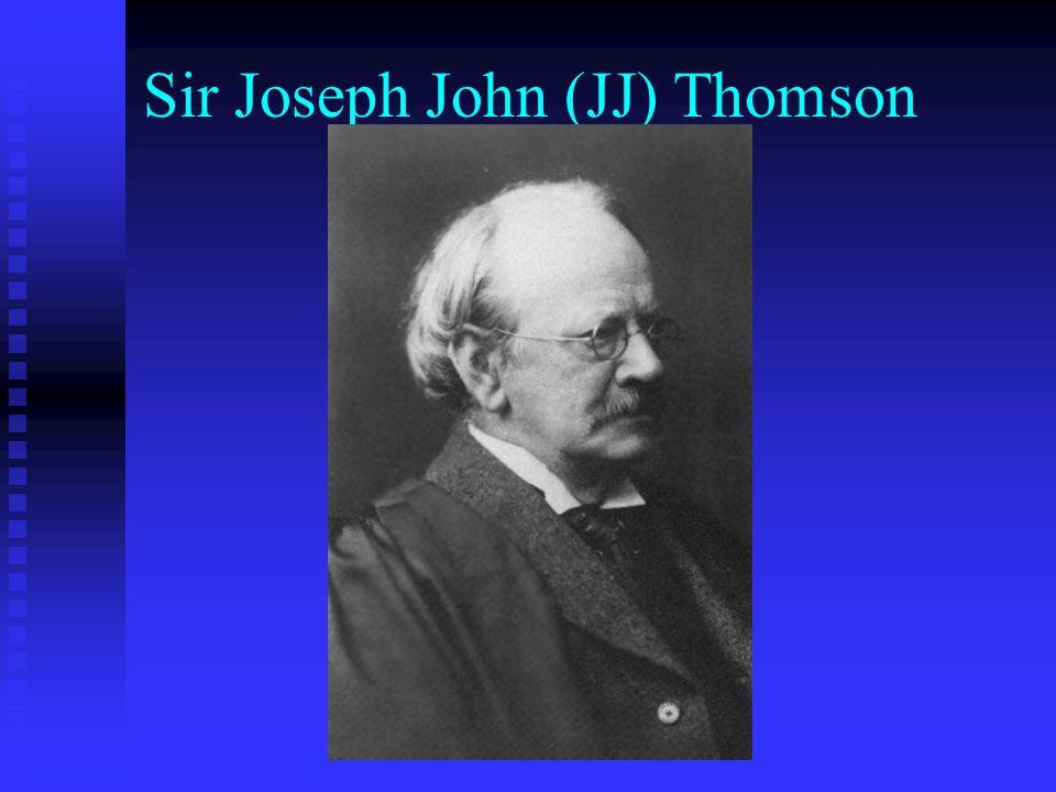 Sir Joseph John (JJ) Thomson