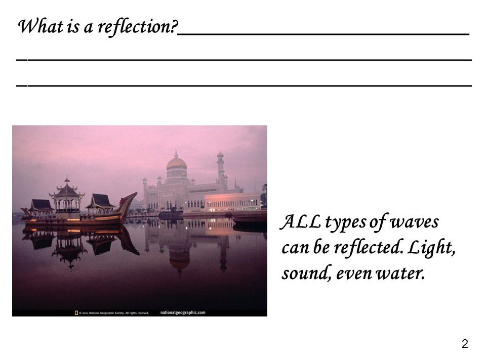 If the obstacle is larger than the wavelength, the waves do not diffract as much.