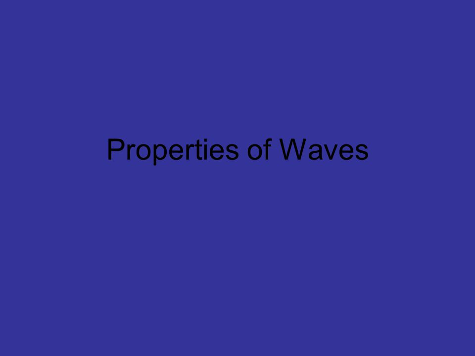 Fixed Aperture When waves of different wavelengths encounter a fixed aperture (opening) size, the extent to which diffraction occurs varies.