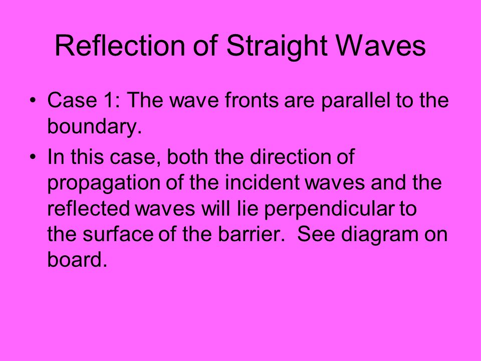 Waves traveling from deep to shallow water