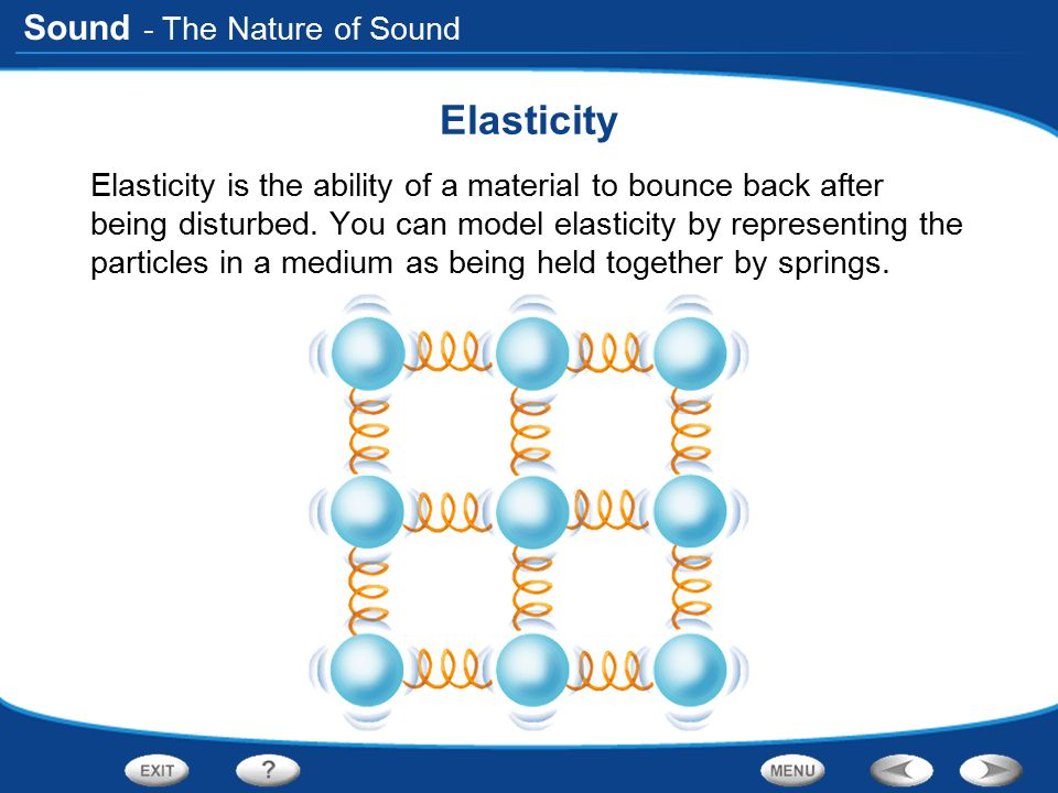 Sound More on the Properties of Sound Click the PHSchool.com button for an activity about the properties of sound.