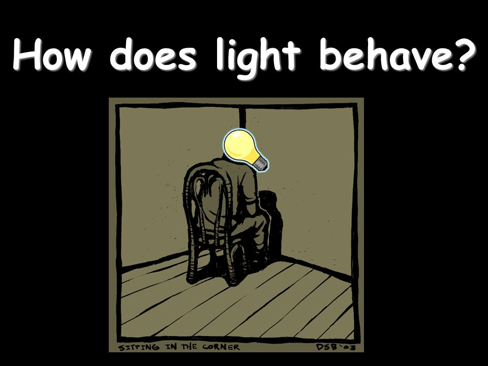 How does light behave?