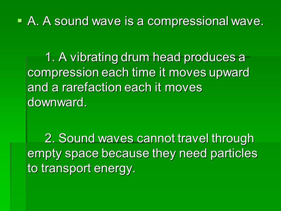  B.Sound waves travel faster through solids.  C.