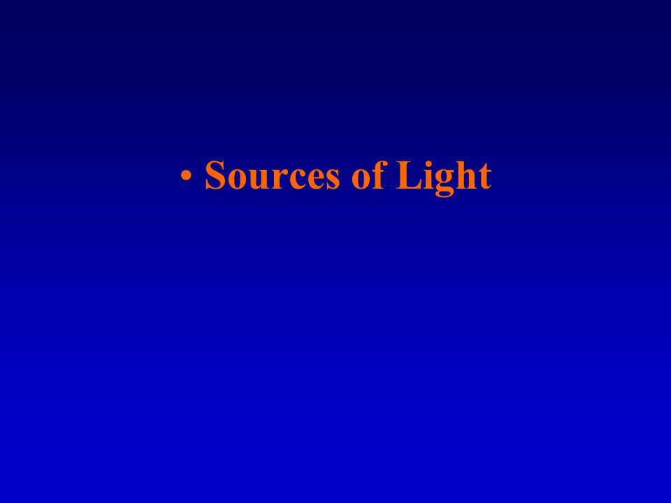 Photoelectric effect –Light is a form of energy and it gives off its energy to matter when it is absorbed.