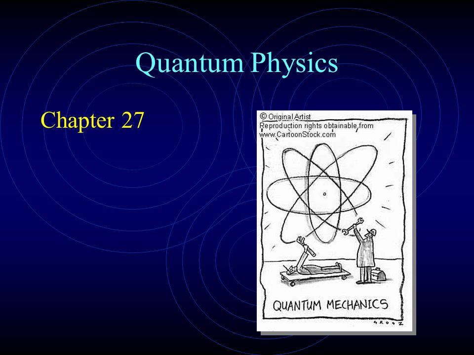 Quantum Physics Chapter 27