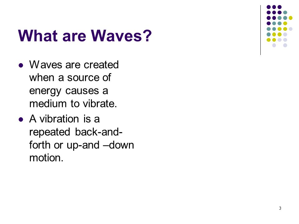 24 Review Questions The highest part of a transverse wave is called the _______________.