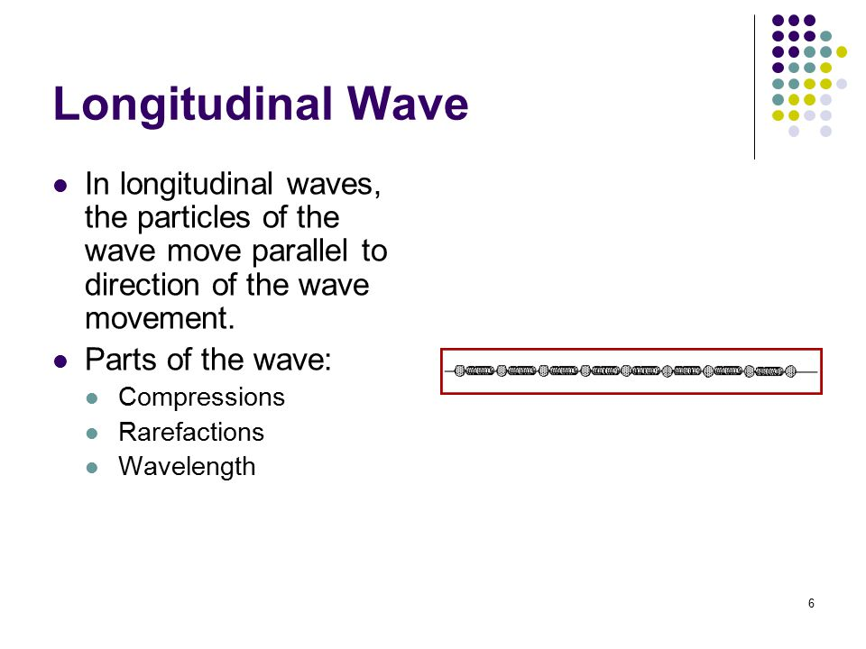 7 Surface Wave Surface waves occur at the boundary between two mediums and are a combination of transverse and longitudinal waves.