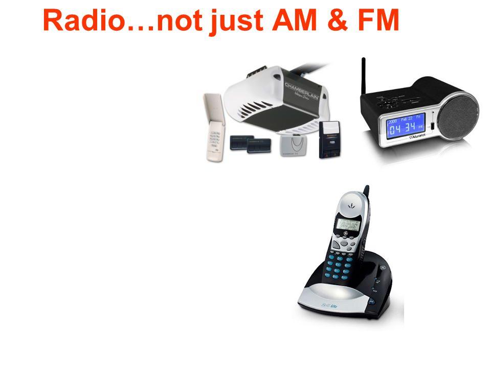 Radio…not just AM & FM