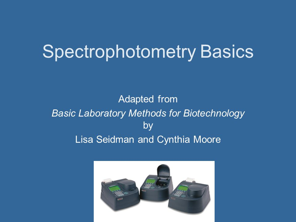 Background Spectrophotometry uses light waves to measure characteristics of a given sample The effect the sample has on the light allows for determination of characteristics of the sample Spectrophotometers are used in biotechnology and other laboratories for a variety of purposes