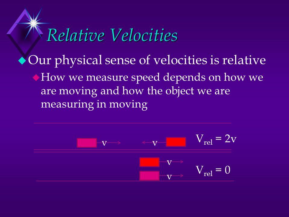 Speed, Wavelength, Frequency c = f