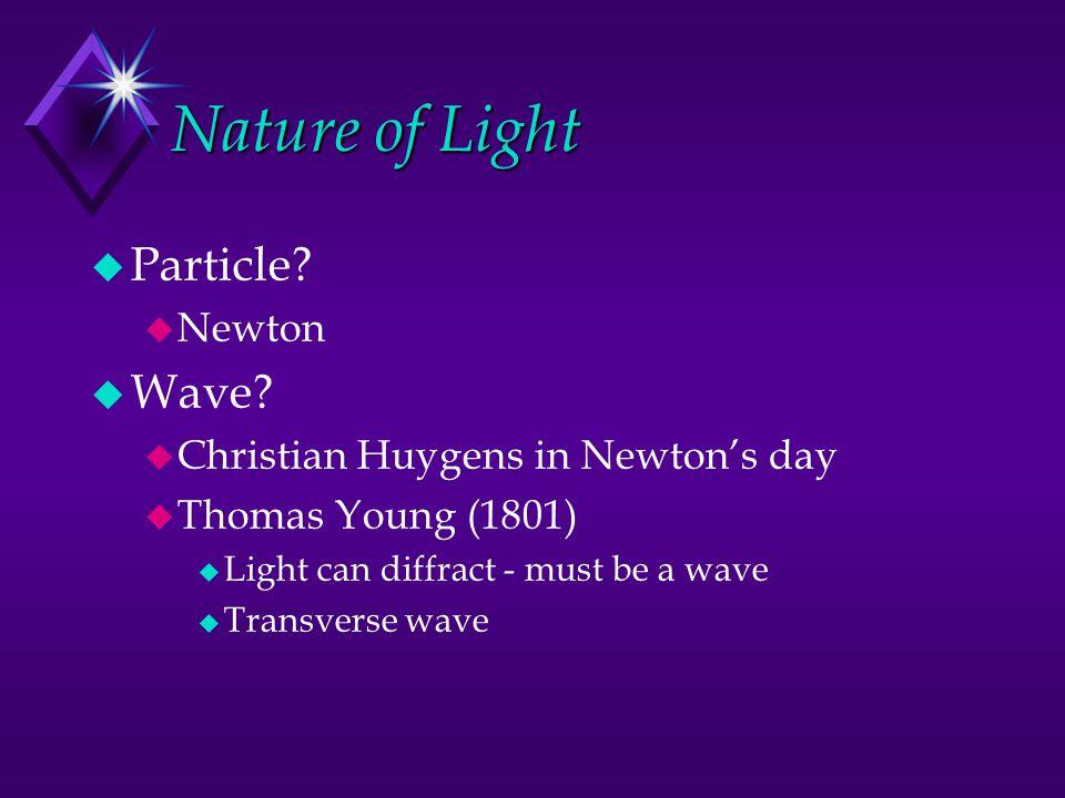 Planetary Model p e-e- Acceleration Force implies acceleration Accelerating charges emit light Light carries energy (E = hf)